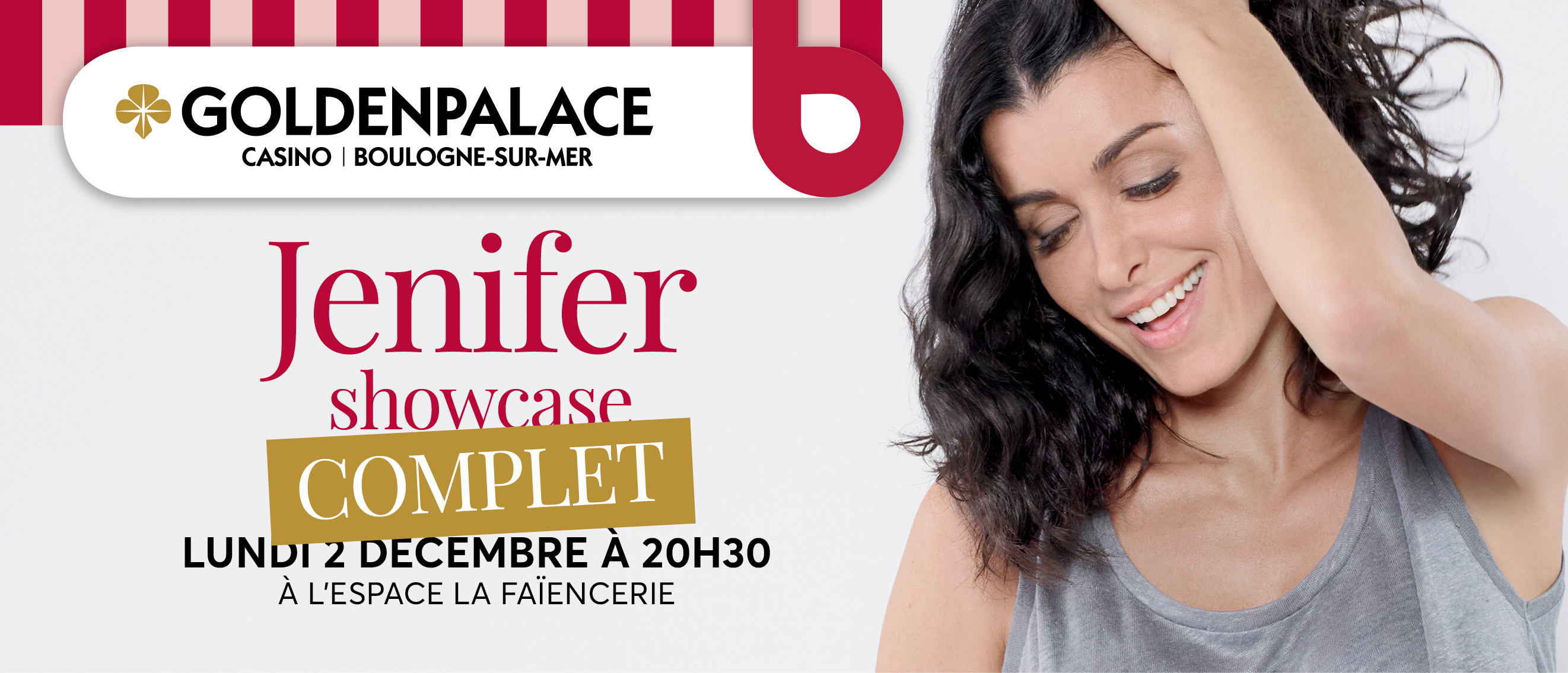 Jenifer en showcase à la Faïencerie